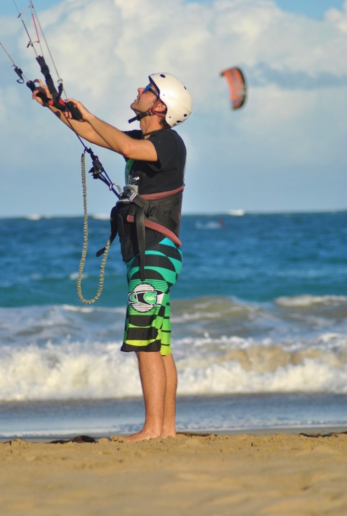 Aprendendo Kitesurfing Cabarete 5