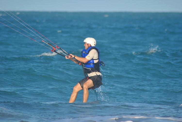 Aprendendo Kitesurfing Cabarete 1