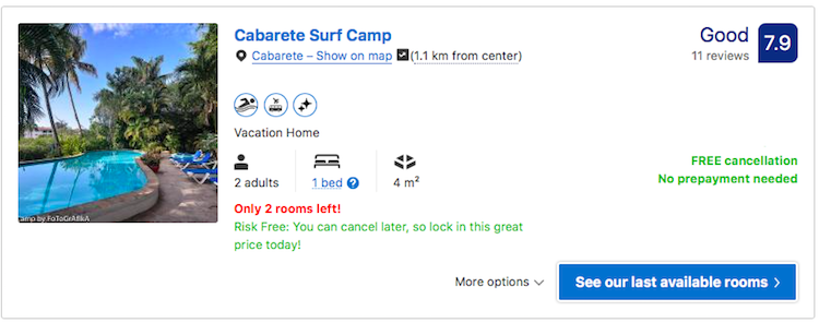 Surf Camp Cabarete