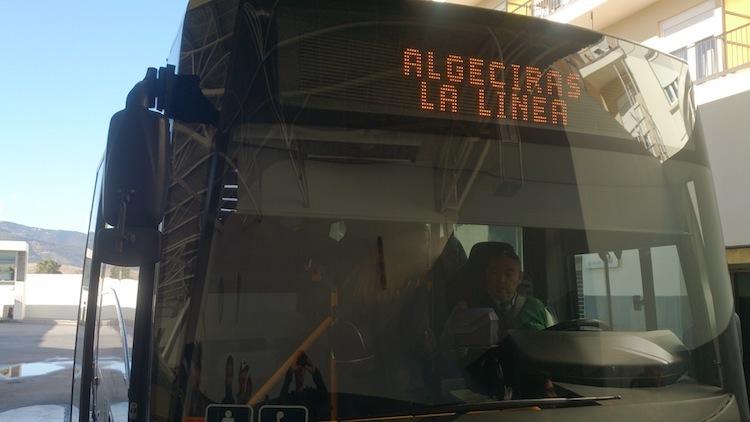Algeciras La linea gibraltar bus