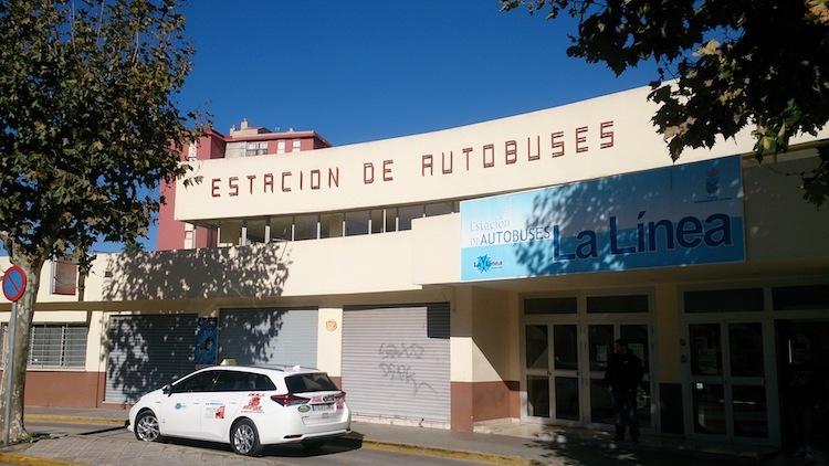 estação de onibus Algeciras Espanha