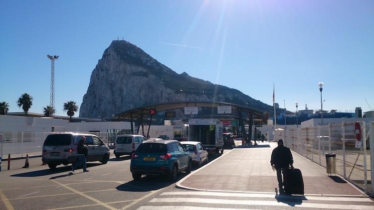 fronteira Gibraltar Espanha O Rochedo de Gibraltar