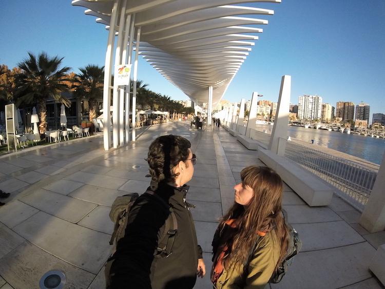 Malaga Spain attraction coastal viewpoint