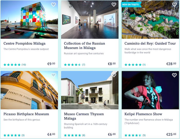 malaga tours and activities