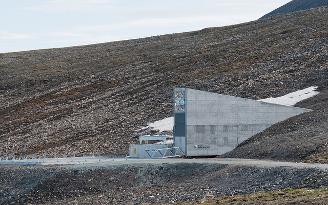 Svalbard Longyearbyen Norway Global Seed Doomsday Vault