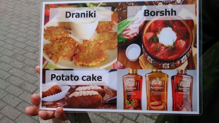 Famous Food in Belarus
