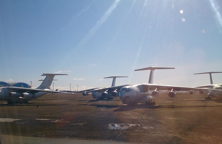 Ilyushin Il-76 in Belarus Airport 2