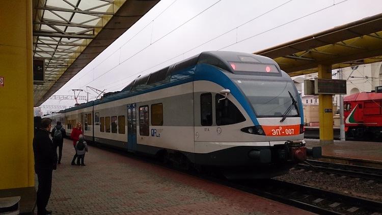 Modern Train Belarus 2