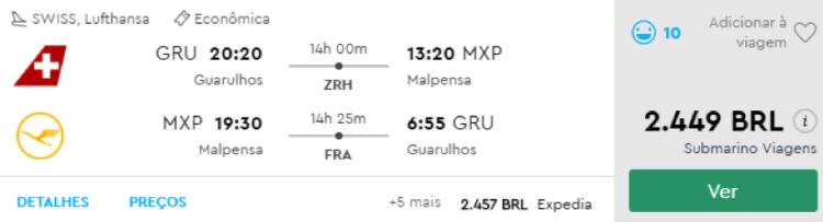 passagem avião barata