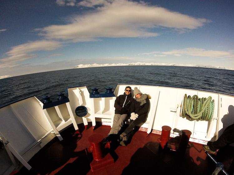 boat trip in Svalbard