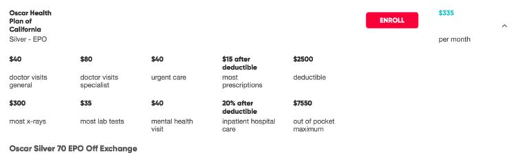 Seguro saúde Estados Unidos 2