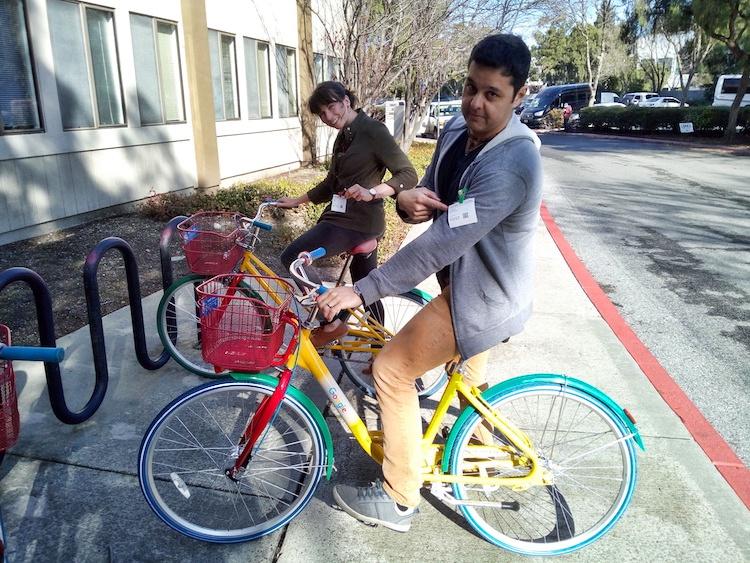 Bicicletas Google Campus