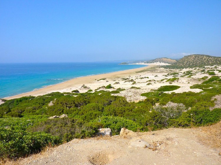 Karpaz Peninsula north cyprus beach