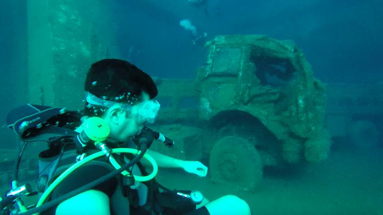 Zenobia wreck dive cyprus