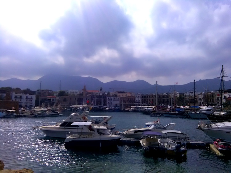 girne kyrenia cyprus harbor town center