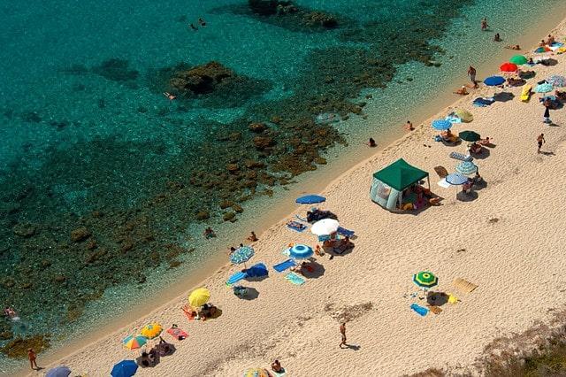 Пляжи Калабрия