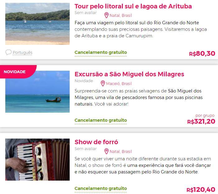 Best attractions in Brazil