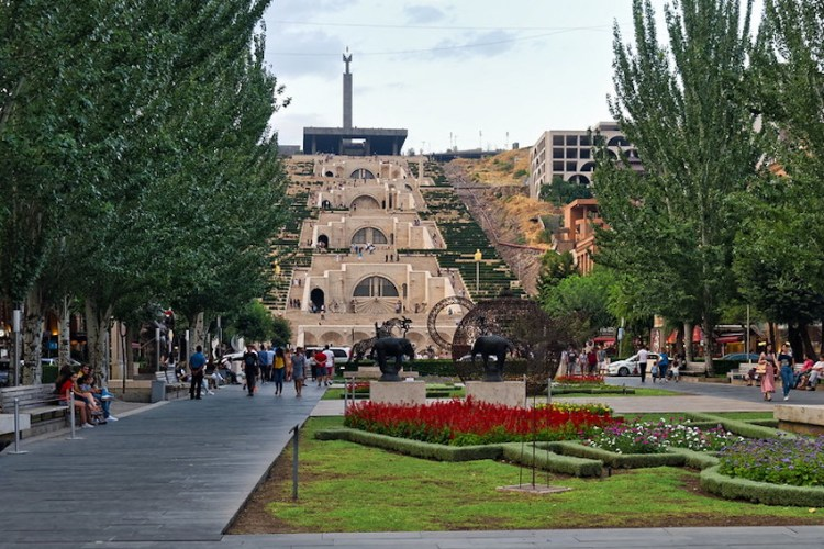 """The Cascade,"" Yerevan, Armenia"