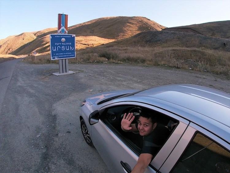 Armenia-Nagorno Karabakh border