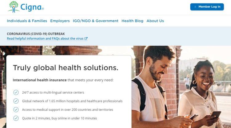 Cigna international health insurance