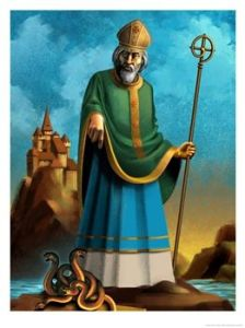 st-patrick-and-snakes
