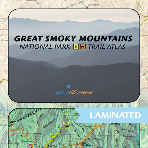 Great Smoky Mountains Trail Atlas