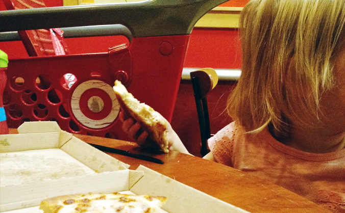 Target has long been one of my favorite places, but I would never have imagined taking my 2-year-old on a date there. What joyful surprises motherhood brings! Sunday Share with Outrageously Wonderful