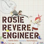 """Rosie Revere, Engineer"" loves to build and create for her family and friends until an uncle unexpectedly laughs at the gift she made for him. Rosie is heartbroken. She continues to dream up ideas but doesn't create until an engineer aunt encourages her. This book has a great lesson for kids about doing what you love and also has a great lesson for adults about being careful with your words."