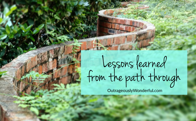 When presented with a big, messy struggle, I will choose the path around every single time. But there are great lessons to be learned on the path through.