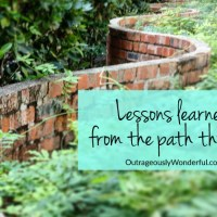 Lessons learned from the path through