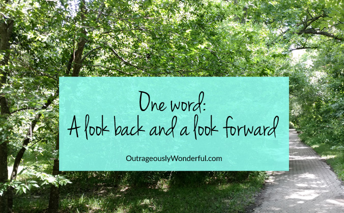 Choosing a word of the year helps set my priorities for the coming year and serves as a reminder if I find myself off track. #oneword #wordoftheyear #resolutions #newyear