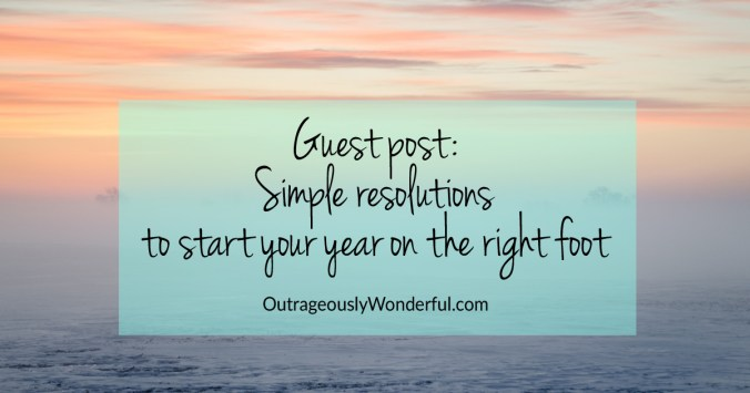 These four simple, forgiving resolutions can be done each day and have the power to transform your year.