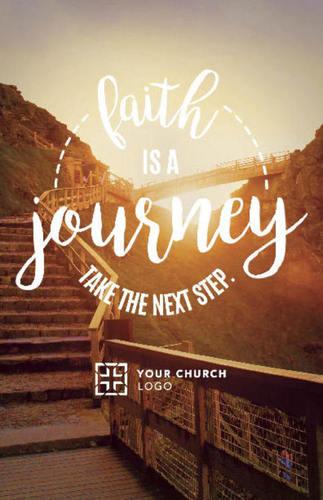 Faith Journey Postcard Church Postcards Outreach Marketing