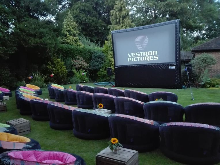 Big inflatable screen hire