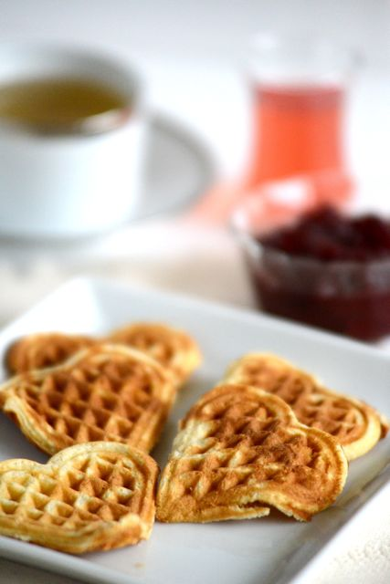Norwegian Waffles Vertical