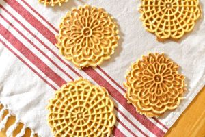 Scattered Pizzelles