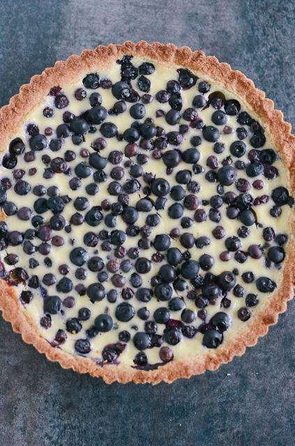 Rye and Blueberry Tart