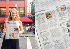 Daytona with Oregonian Article