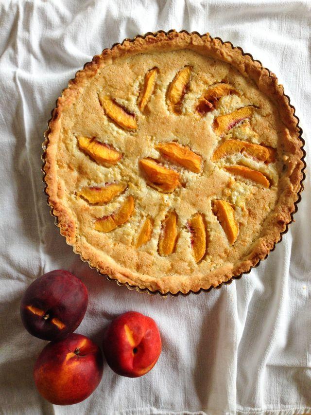 Mazarin Torte with Nectarines IMG_9537
