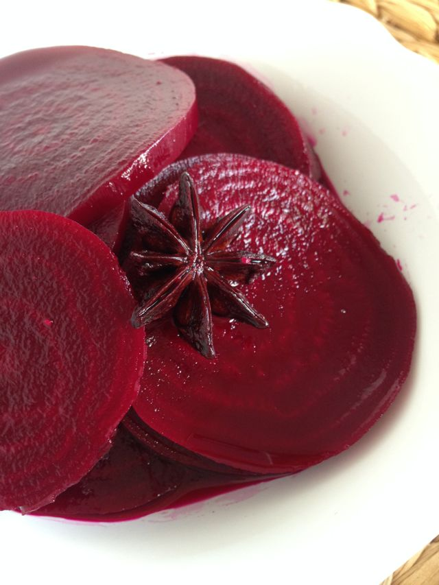 Scandinavian Pickled Beets