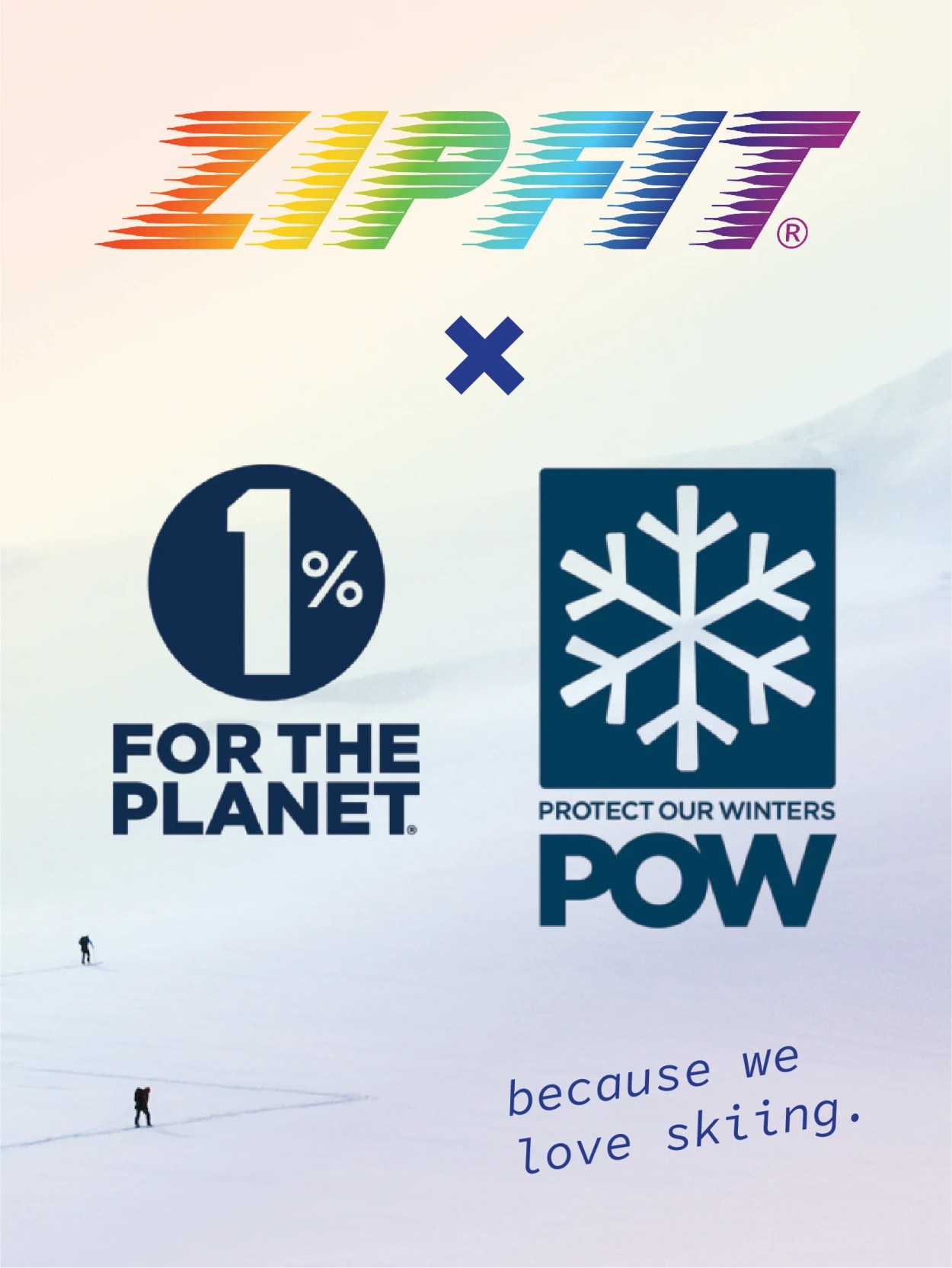 ZipFit 1 POW - Aspen, Colo(Sept. 30 2021) – ZipFit Liners have long stood for quality and durability. As a brand, we turn our backs on planned obsolescence and aim to make liners that last so long, they lessen our community's collective impact on the planet. We are proud to take our commitment to winter one step further by partnering with world class nonprofits 1% for the Planet and Protect Our Winters.
