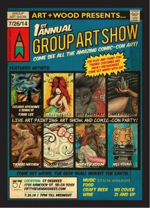 Art+Wood Group Art Show