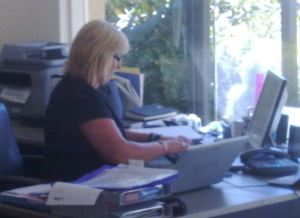 Staff at NSO working hard on the new program