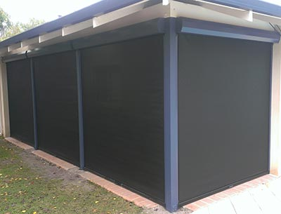 Cafe Blinds in Busselton - Outside Concepts