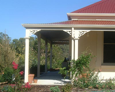 An Adelaide bullnose verandah is a practical as it is good looking.
