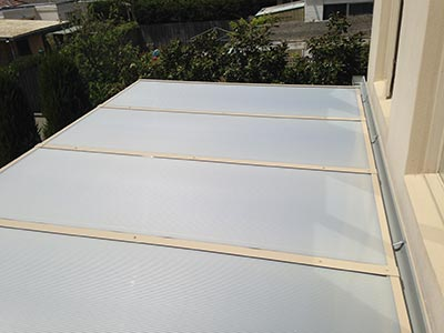 View this innovative roof system, designed and built for a Melbourne verandah by Outside Concepts Melbourne Bayside branch