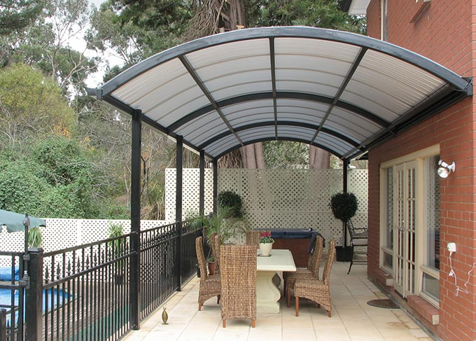 Curved Patio Roof Features And Advantages