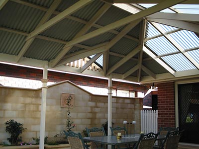 Polycarbonate Patio Roof Sheeting Is A Great Product And Is A Clear Winner  If You Follow