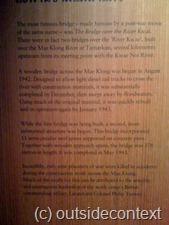 The history of the Bridge