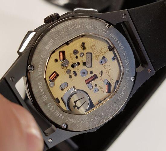bulova chronograph watch instructions